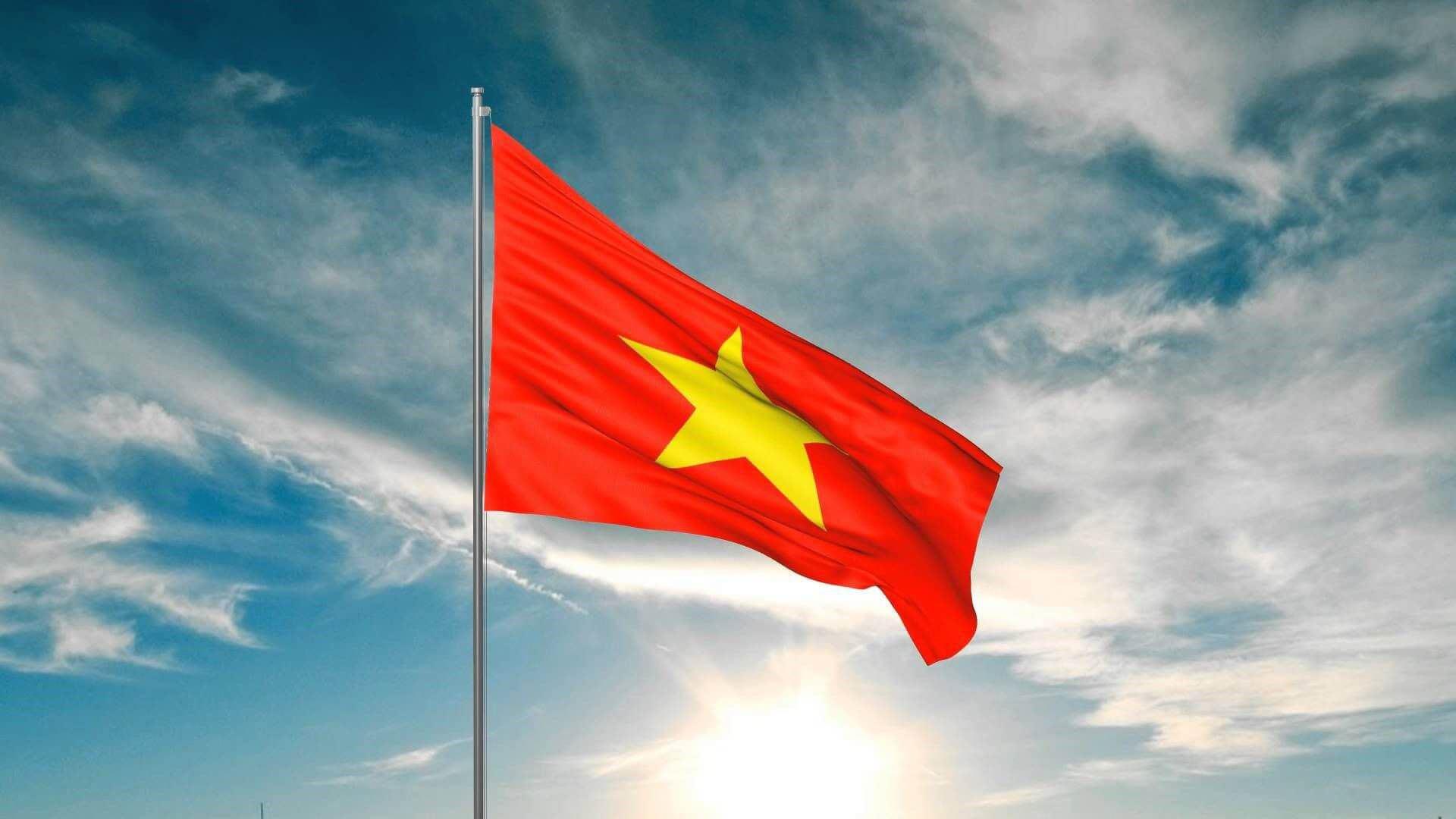 Lá cờ tổ quốc Việt Nam