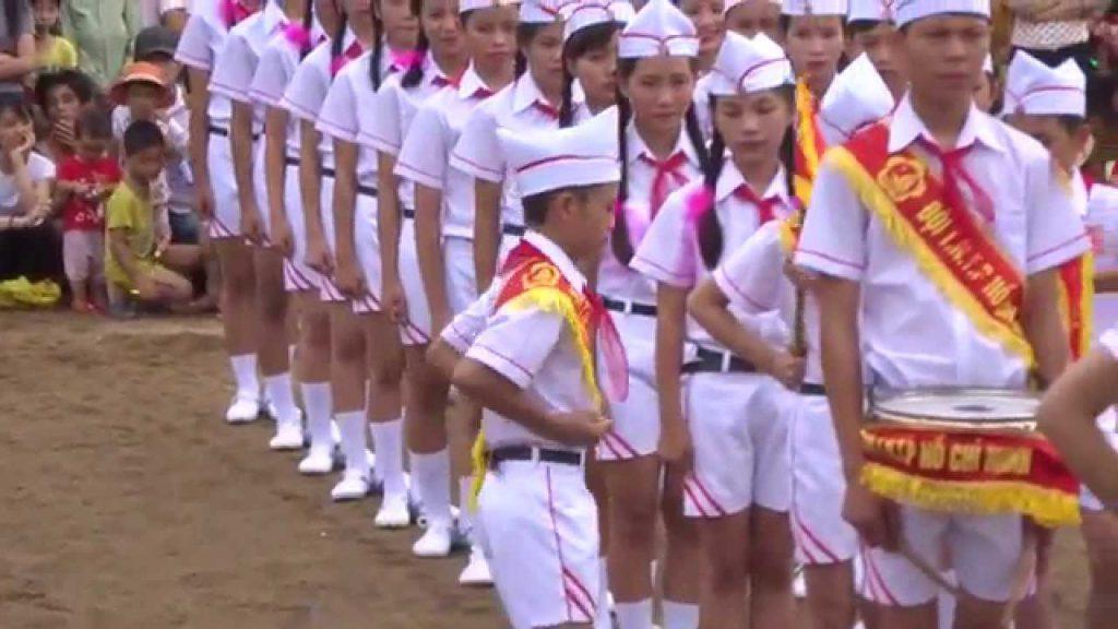 Mua đồng phục nghi thức đội trên toàn quốc
