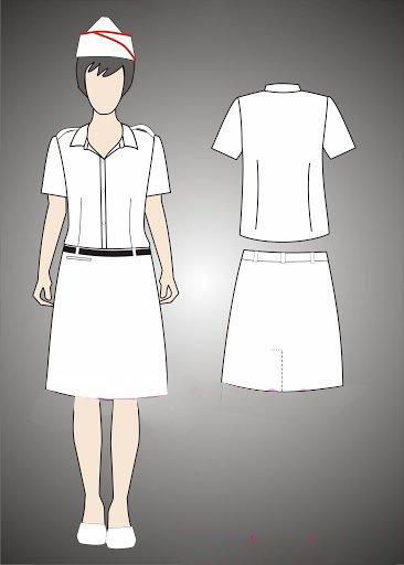 Thiết kế thanh lịch của váy đội viên